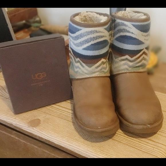 Aztec print Pendleton UGG boots